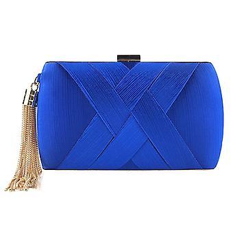 Handbags Luxury Designer, Women Fashion Tassel Clutches Evening Bags /