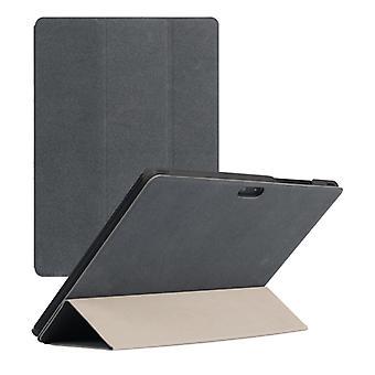Horisontell Flip PU läderfodral för CHUWI Hi9 Air Tablet(Grå)