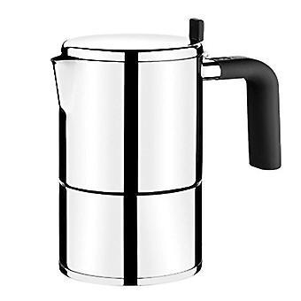 Italiensk kaffekanne BRA BALI rustfritt stål / 10 kopper
