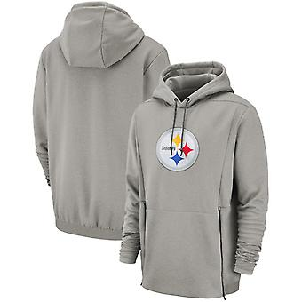 Pittsburgh Steelers Men's Sideline Performance Player Pullover Hoodie Top WYX014