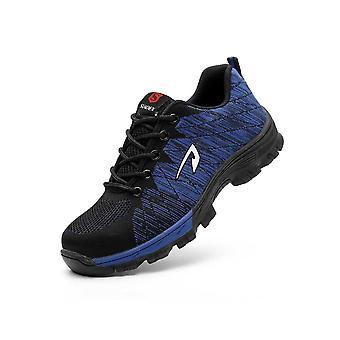 أحذية السلامة أحذية الأحذية تنفس، واقية الصلب قبعة اخاذ، والعمل