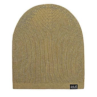 Jack Wolfskin Feel Good Beanie Unisex Casual Winter Hat Sand 1907011 5101