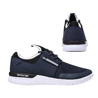 Supra Flow Run Lace Up Mens Casual Running Trainers Navy 08021 401 B35A