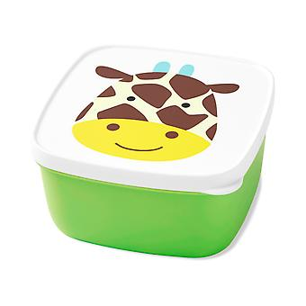 Skip*Hop Zoo Snack Containers (set of 3) Giraffe