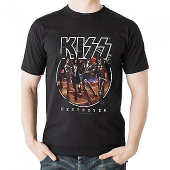 Camiseta Kiss Unisex Adults Destroyer Design