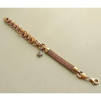Rose gouden armband met ster