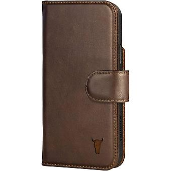 TORRO Wallet Phone Case Compatible With iPhone 12 - Quality, Genuine Leather Cover