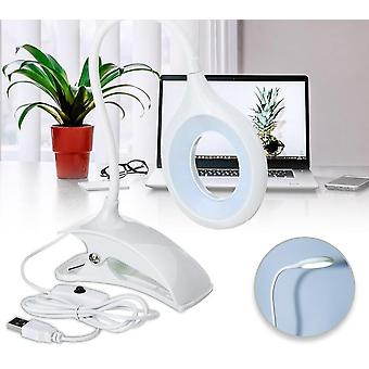 Usb Foldable, Led Desk Table With Bed Book Reading  Clip