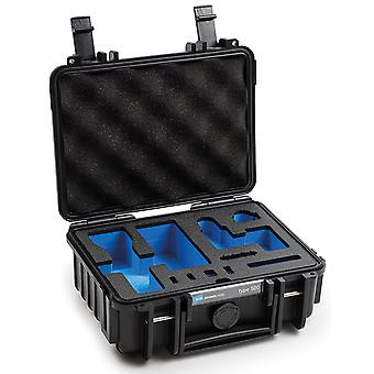 B&W Osmo Caso Tipo 500 para DJI Osmo Pocket 2 con inserto de espuma, negro