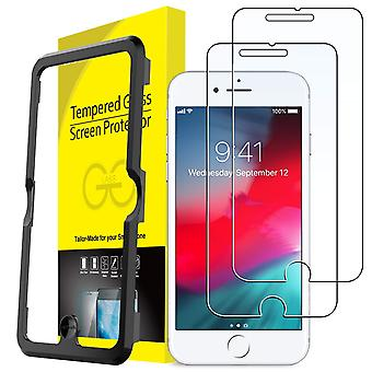 Jetech screen protector compatible with iphone 8 plus, iphone 7 plus, iphone 6s plus and iphone 6 pl
