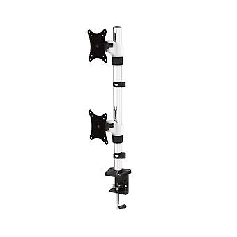 Adjustable Dual Monitor Vertical Mount