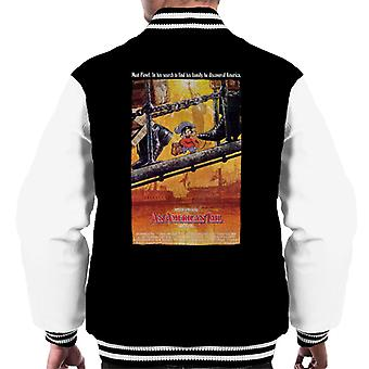 En amerikansk hale teatralsk plakat menn's Varsity Jacket