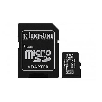Kingston Microsdhc Canvas Select 100R Cl10 Uhs I Card With Sd Adapter