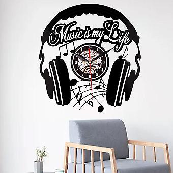 Emoyo ehj85 kreative Wanduhr 3d Wanduhr Quarz Wanduhr für Home-Office-Dekorationen