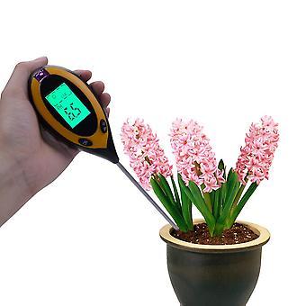 Digital Ph Meter Solului, Umiditate Monitor Metru Temperatura, Lumina Soarelui Intensitate