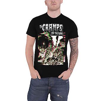 The Cramps T Shirt Off The Bone Album Cover Band Logo new Official Mens