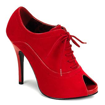Bordello Women's Shoes WINK-01 Red Velvet