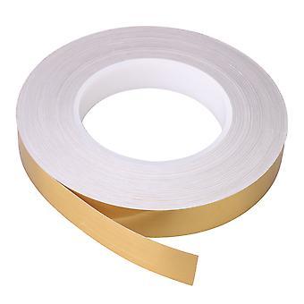 Self-adhesive Tile Beauty Seam Strip Golden Foil 50m Length 2cm Width