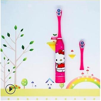 Head Electric Toothbrush, Cartoon Pattern, Double-sided, Kids Home, Cute Soft