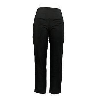 Donne con controllo Petite Tummy Control Tushy Lifter Pantalone Nero A284090
