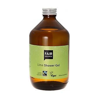 Zero Waste Lime Suihkugeeli 500 ml geeliä