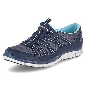 Skechers MY Business 104061NVBL uniwersalne przez cały rok damskie buty