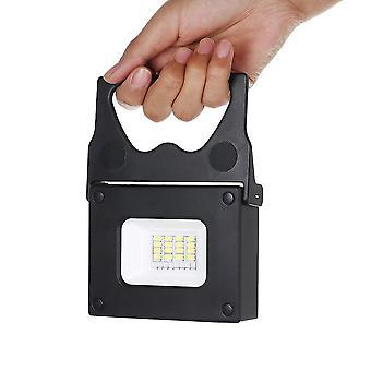 ポータブルLEDポケット投光器、屋外キャンプハイキング緊急時に明るいミニパワーバンク