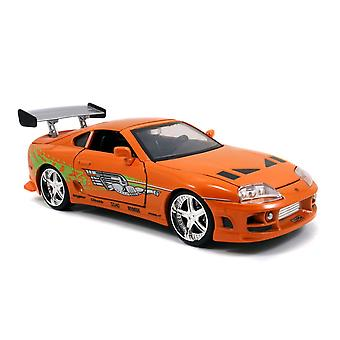 F&F '95 Toyota Supra OR 1:24 Scale Hollywood Ride