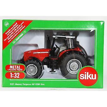 Siku farmer  3251 massey ferguson tractor red 1:32