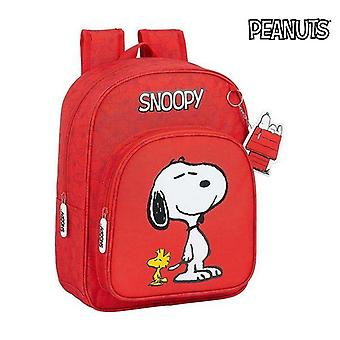 Child bag snoopy red