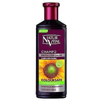 Naturaleza y Vida Shampoo Color Mahogany Triple Action 300 ml