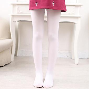 Girls Tights, Kids Spring Summer Cotton Stretch Skinny Pantyhose