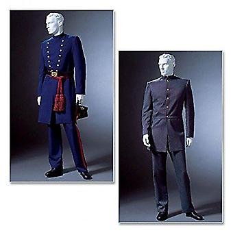 McCalls Naaipatroon 4745 Mens Historische Kostuum Maten: XL-XXL-XXXL