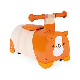 Janod Hamster Pedal Riding Vehicle
