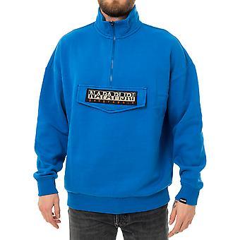 Sweat-shirt homme napapijri bao hz bleu snorkel n0ykf9b03