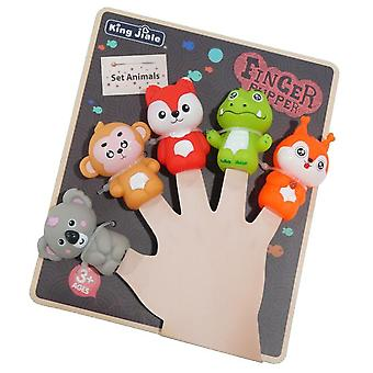 Children's Finger Dolls, Role-playing Toys, Parent-child Interaction