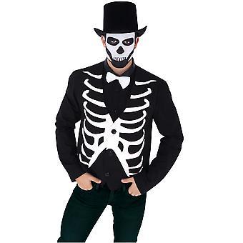 De jasjemens van het skelet