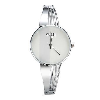 Feminino Rose Gold Womens Bangle Bracelet Watches, Luxury Stainless Steel,