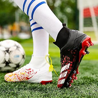 Men Football Boots, High Top Sneakers