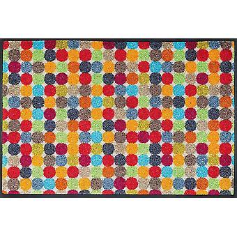 FengChun 060826 Fumatte Mikado Dots, 50 x 75 cm, Innen, waschbar, Bunt