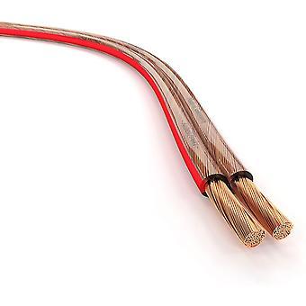 FengChun Lautsprecherkabel Made in Germany aus reinem Kupfer 50m (2x1,5mm2