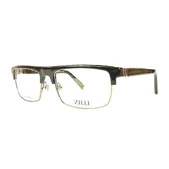 ZILLI glasögon Ram Acetate Titanium Frankrike Handgjord ZI 60005 C03