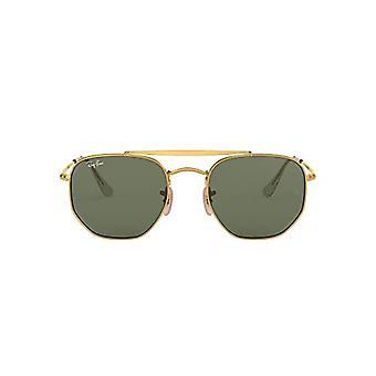 Ray-Ban Junior 0RB3648 001 54 Gafas de sol, oro/verde, unisex-adulto