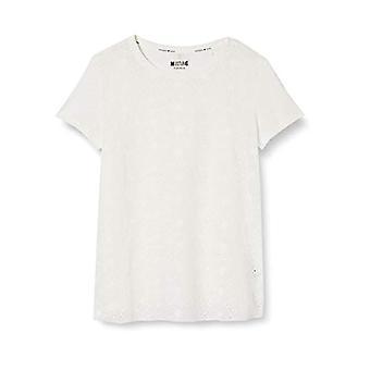 MUSTANG Alina C Lace T-Shirt, Beige (Cloud Dancer 2020), 46 (Storlek Producent: Medium) Kvinna