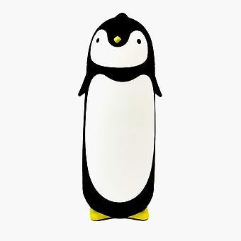 FengChun Edelstahl-Thermobecher in niedlichem Pinguin-Design 280 ml Schwarz