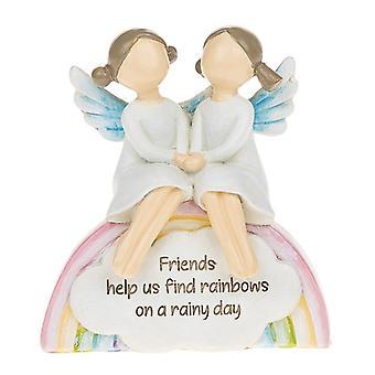 Rainbow Angels Freunde Regentag