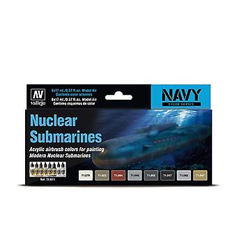 Vallejo Model Air Set - Nuclear Submarines