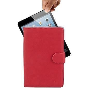 """RivaCase tablet hoes -rood - 8"""" voor oa iPad mini, Samsung Galaxy tab, Lenovo"""