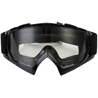 Motorradbrille schutzbrille Wind Staubschutz mit transparent/farbige LinsePC+TPU Materialien