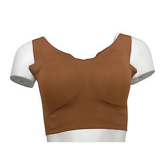 Rhonda Shear One Skintones Cuerpo w / Almohadillas extraíbles Brown Bra 738218